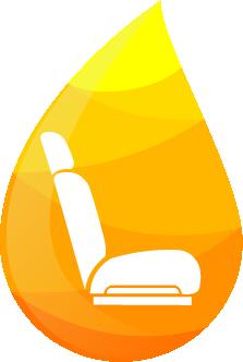 Kapljica globinsko čiščenje avta