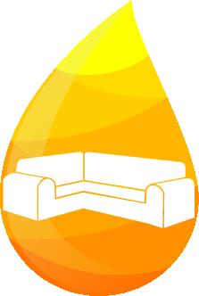 Kapljica globinsko čiščenje sedežne garniture